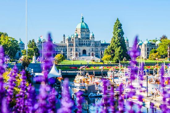 Victoria, BC government building