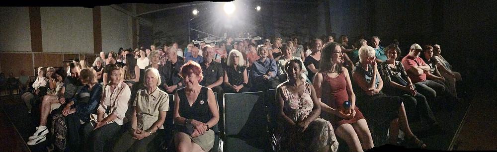 Full house, audience, Victoria Fringe Festival