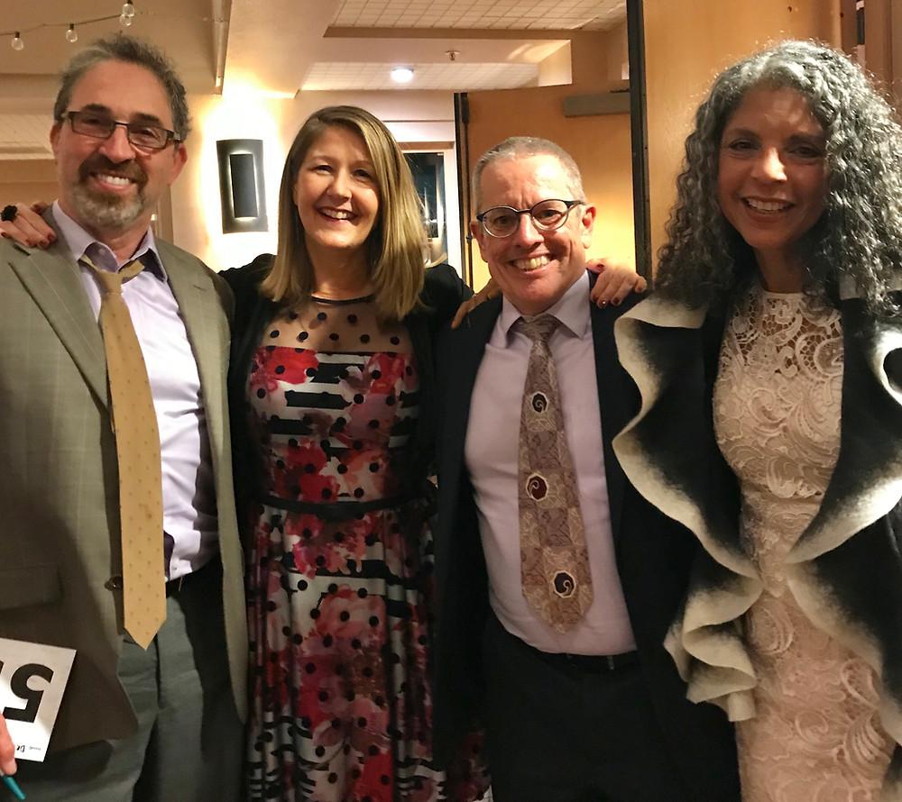 Schurig Center BAM GalaDr Stephen Weiss, Patricia Gill, MS, Dr. Richard Delmonico, Dr. Diane Barnes