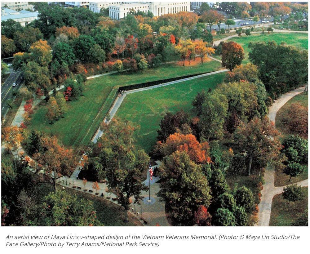 Vietnam Memorial, Maya Lin