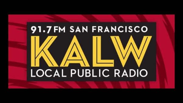 KALW 91.7 FM SF logo