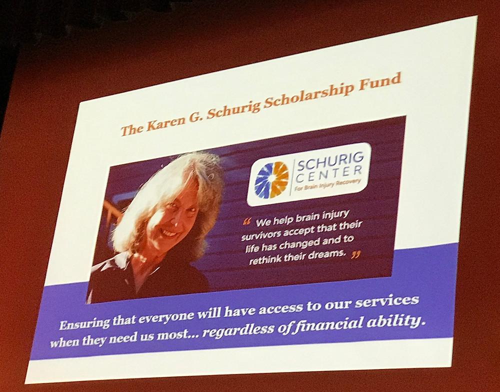 Schurig Scholarship Fund poster