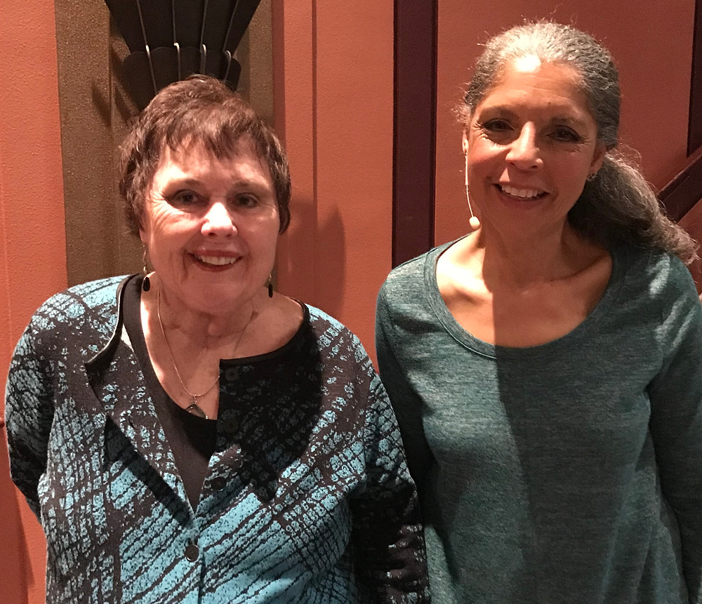 Lawnae Hunter with Diane Barnes, MD