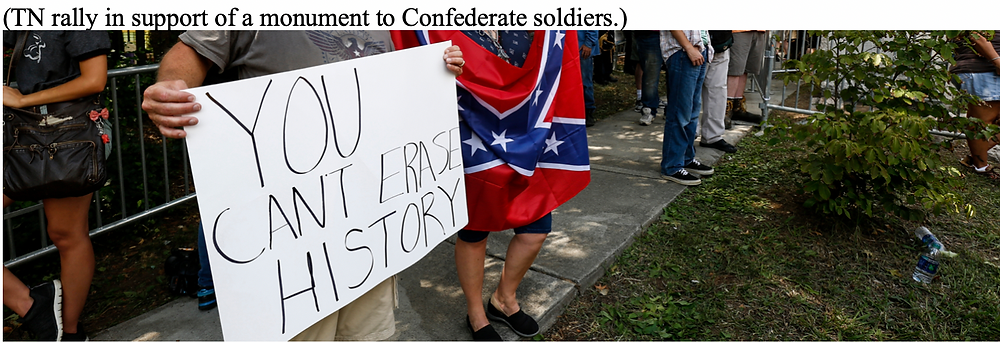 TN rally in support of monument to Confederate soldiers