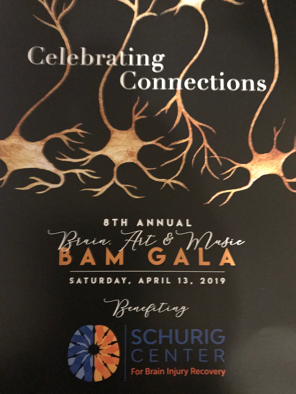BAM Gala Celebrating Connections Poster