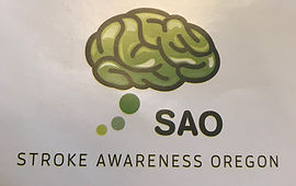 Stroke Awareness Oregon Logo