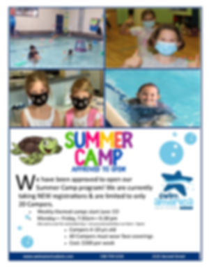 Approved Summer Camp 2020 Cohesive Flyer
