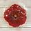 Thumbnail: MINI GLASS BIRDBATH RED