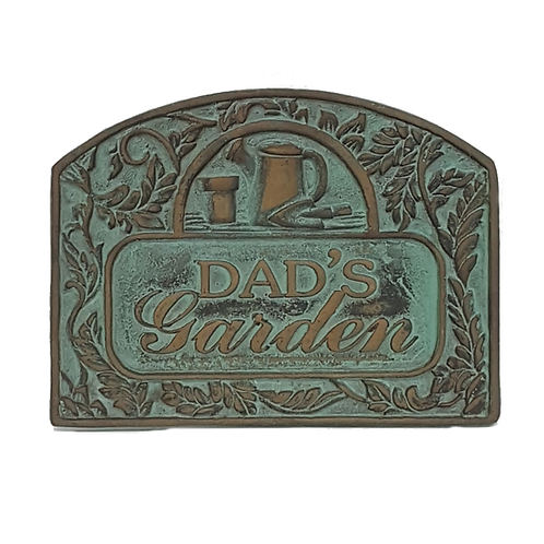DADS GARDEN METAL DECOR