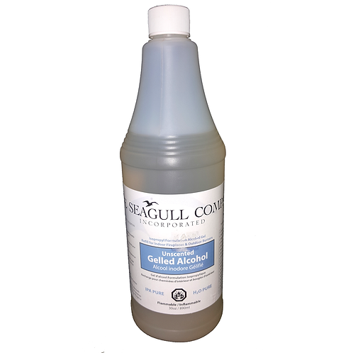 THE SEAGULL COMPANY GELLED ALCOHOL REFILL
