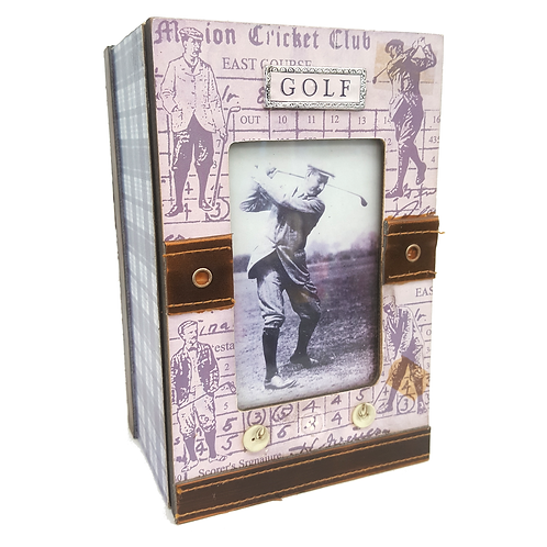 GOLF PICTURE FRAME BOX