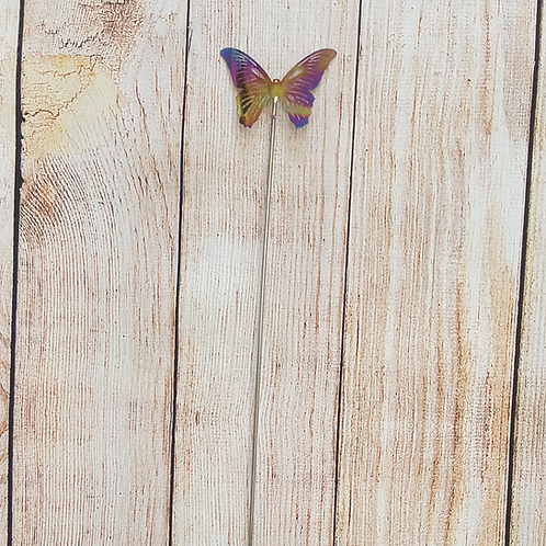 VERY COOL STUFF MULTI COLORED METAL BUTTERFLY (MEDIUM)