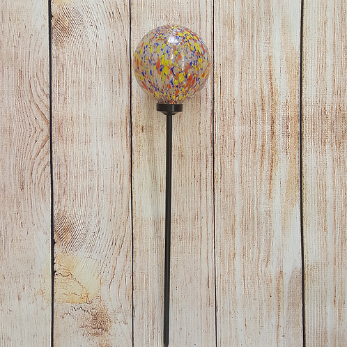 GLASS GAZING GLOBE STAKE