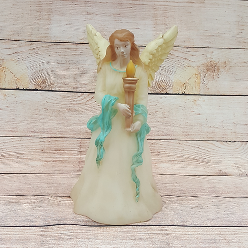 LIGHT UP ANGEL HOLDING TORCH