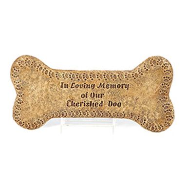 NAPCO PLAQUE/STEP STONE IN LOVING MEMORY DOG