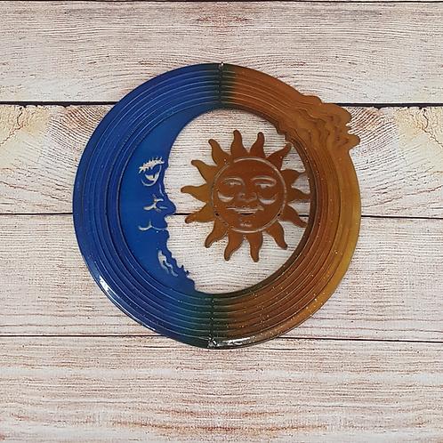 BLUE/GOLD SUN & MOON