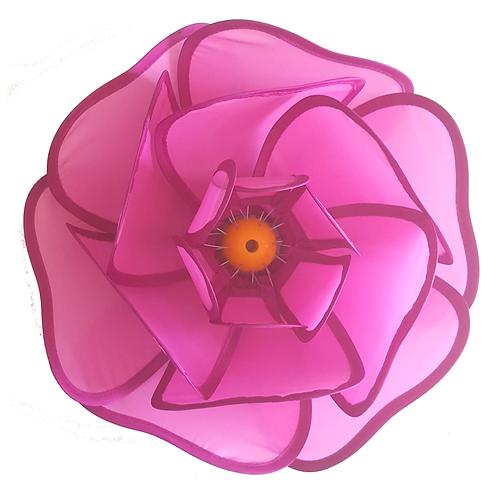 TRANSPAC IMPORT NYLON LOTUS FLOWER (PINK)