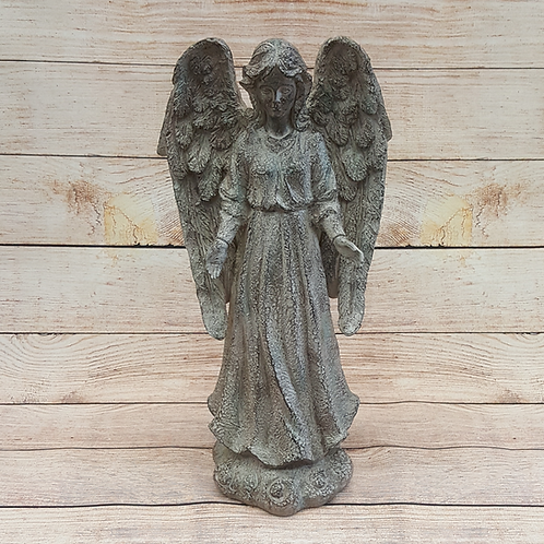RUSTIC ANGEL WITH ARMS WIDE AOPEN