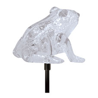 COLOR CHANGING LED SOLAR STAKE (FROG)