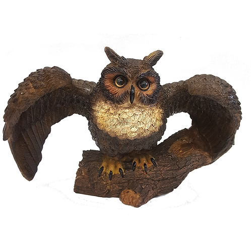 MICHAEL CARR DESIGNS STATUARY GREAT HORNED OWL