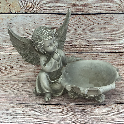 ANGEL IN THOUGHT WITH BOWL