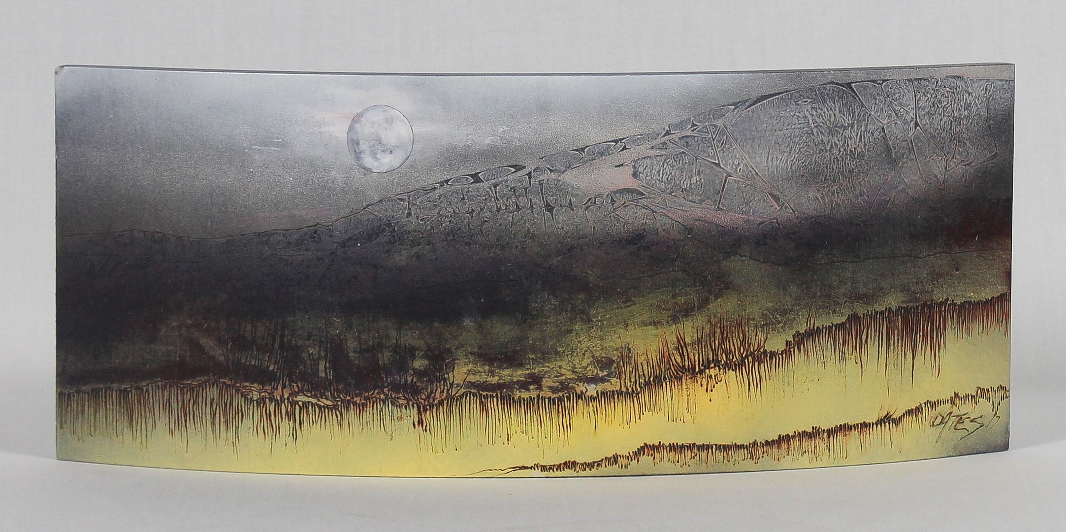 Medium Table Art 55 x 19cm SIDE A 'End o