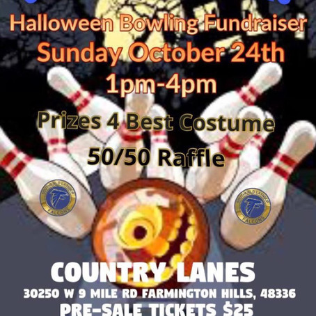 October 24th Halloween bowling