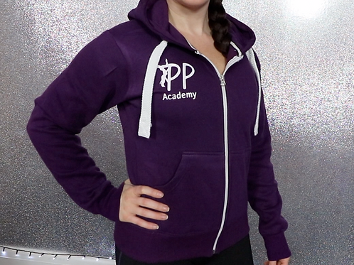 PPA Zipped Hoody (Purple)