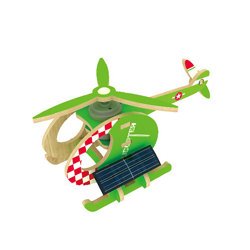 Helicopter - Solar Energy - Colorful Paper Coating