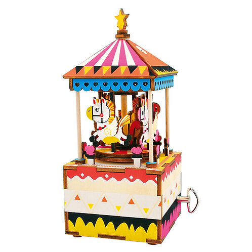 DIY Music Box - Merry-Go-Round