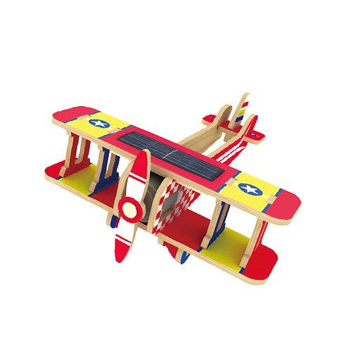 Biplane - Solar Energy - Colorful Paper Coating