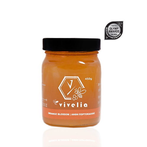 Vivelia Orange Blossom Honey - 450gr