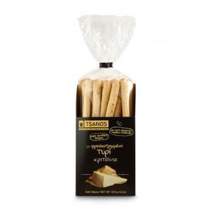 Tsanos breadsticks with cheese 120gr