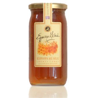 Greek honey with Honeycomb 450gr