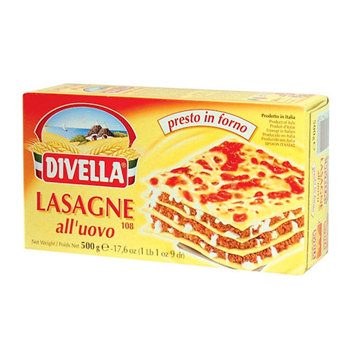 Divella Egg Lasagna 500gr