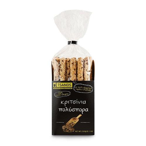 Tsanos breadsticks - multiseed 140gr