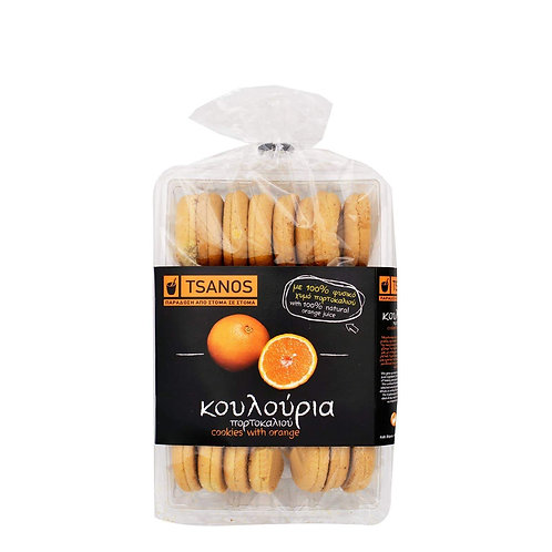 Tsanos cookies with orange 300gr