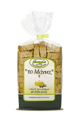 Manna Barley rusks in olive oil 500gr