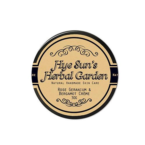 Rose Geranium & Bergamot Crème