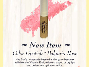 Our Best Selling Organic Rose Lipstick !