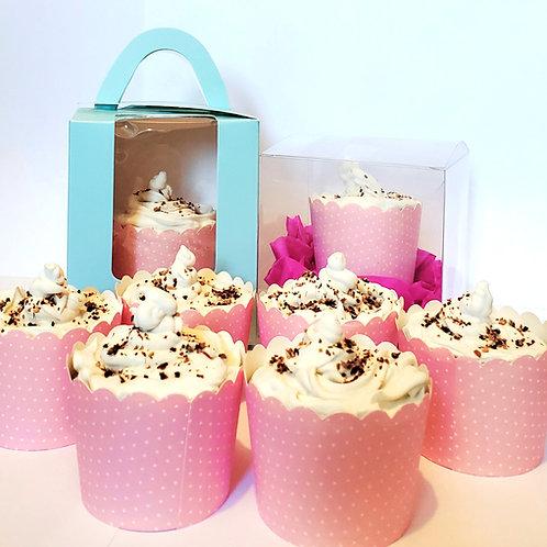 Olive Marjoram Moisturizing Cupcake Soap