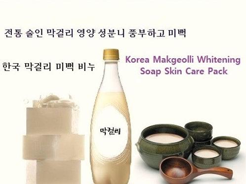 Korea Makgeolli Whitening Soap Pack