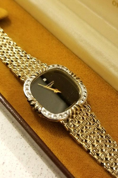 Vintage Longines Diamond Watch
