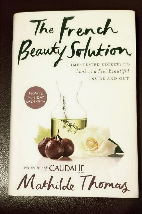 "Famous Skin Care Brand ""Caudalie"" Book"