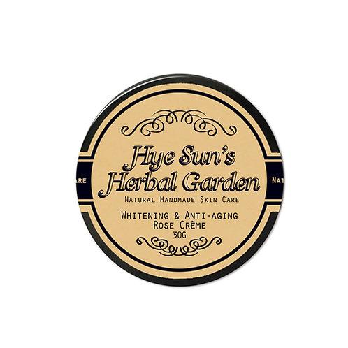 Whitening & Anti-aging Rose Crème