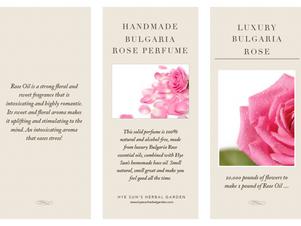 Luxury Bulgaria Rose Solid Perfume