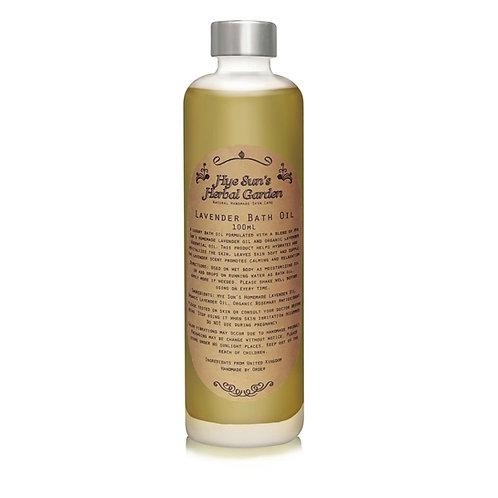 Lavender Oil (Bathing & Moisturizing)