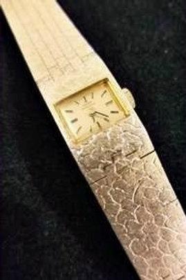Vintage Luxury Girard-Perregaux White Gold Watch
