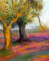 Impressionistische Bäume