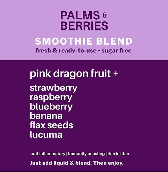 Smoothie Blend Dragon Fruit +